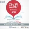 Conferência Integração de Cuidados e Literacia em Saúde. Capacitar o Cidadão no SNS